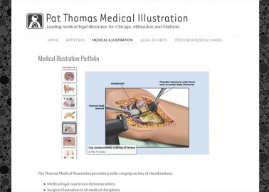 Pat Thomas - Board Certified Medical Illustrator