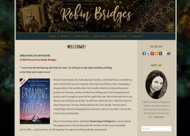 Robin Bridges, author